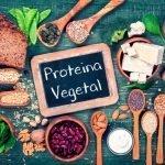 Proteínas en las dietas vegetarianas.